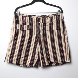 Hei Hei | Anthro Espalande Linen Roll Shorts 10
